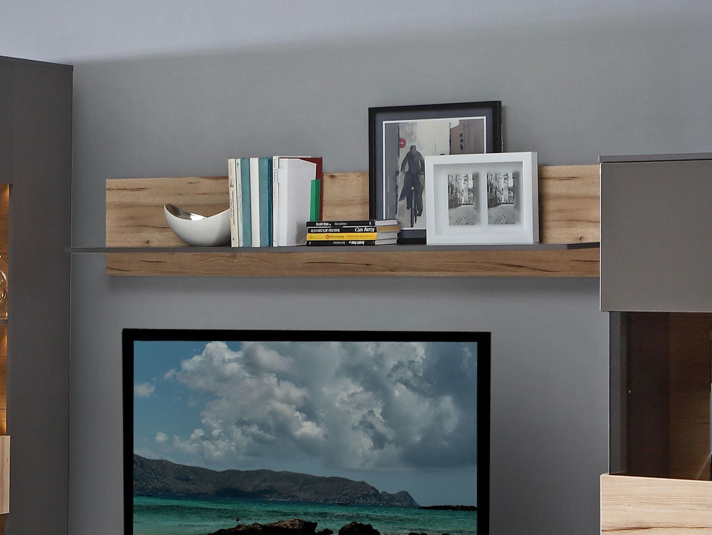 clara wandregal wolfram grau planked eiche. Black Bedroom Furniture Sets. Home Design Ideas