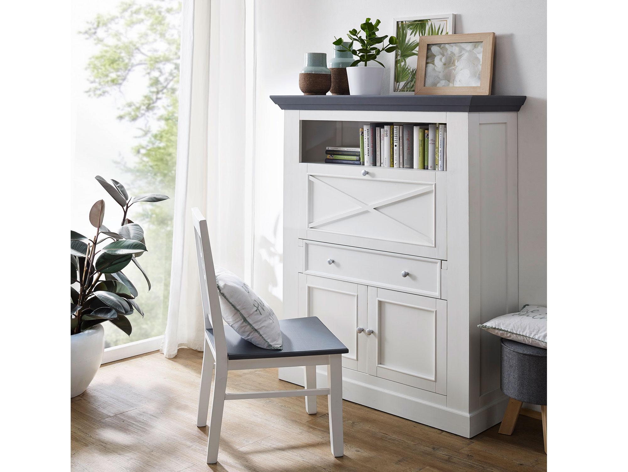 graz sekret r wei lackiert. Black Bedroom Furniture Sets. Home Design Ideas