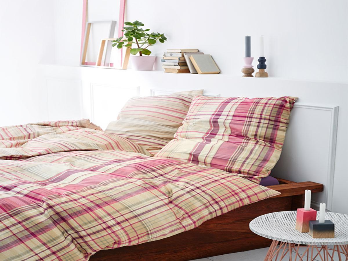 s oliver feinflanellbettw sche 135x200 cm. Black Bedroom Furniture Sets. Home Design Ideas