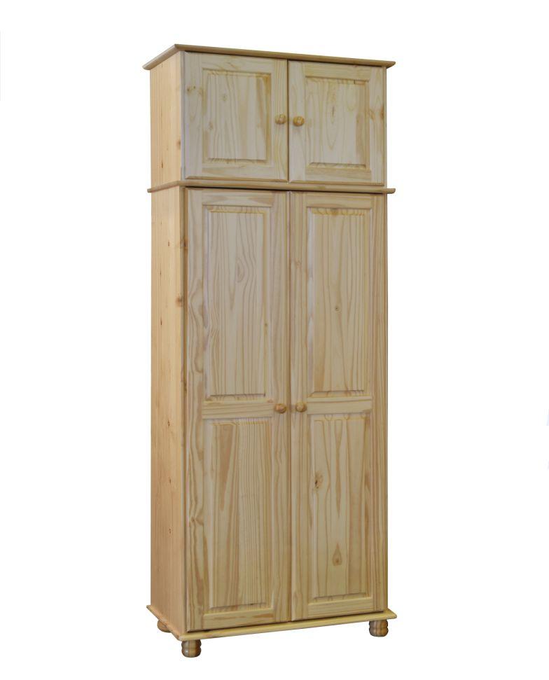 sanny 2 trg schrank kleiderschrank dielenschrank. Black Bedroom Furniture Sets. Home Design Ideas