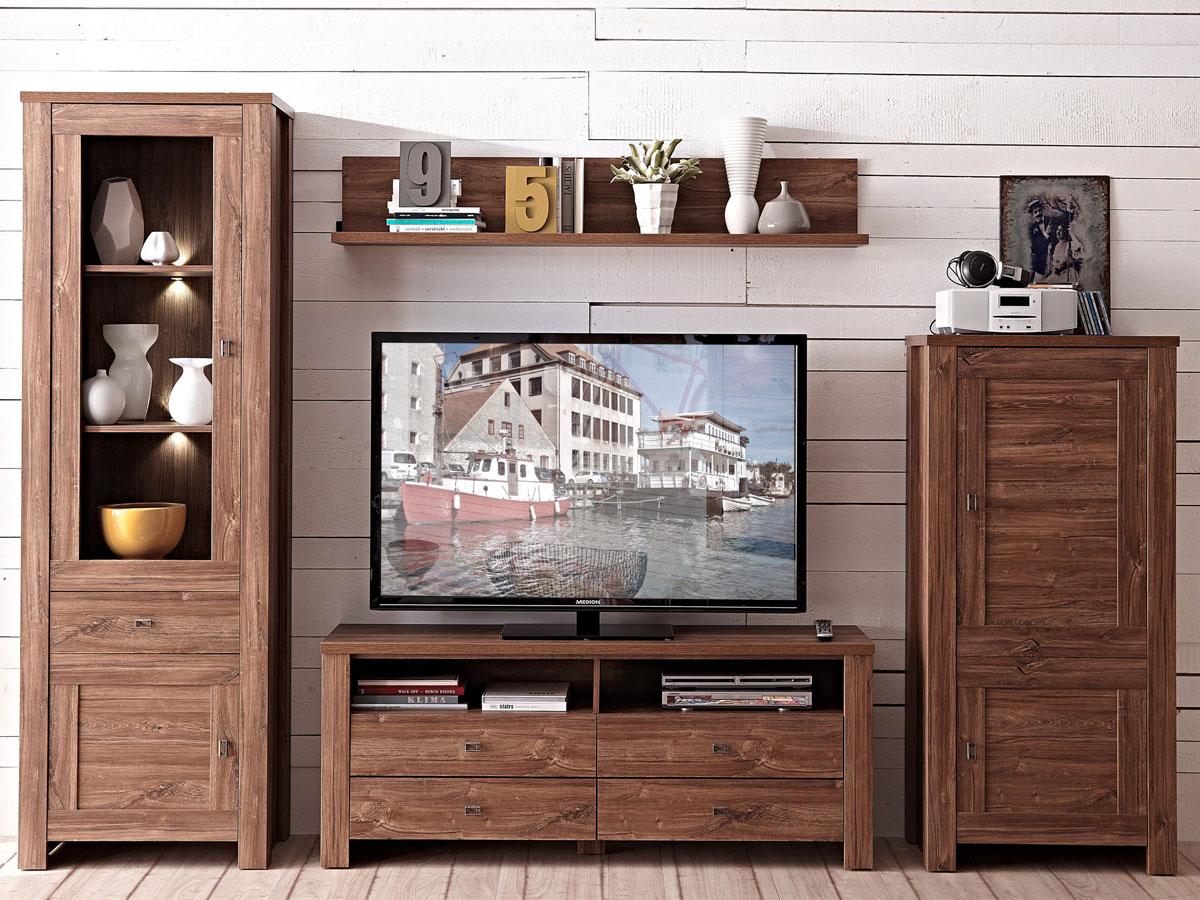 Wohnwand holz dunkel home design inspiration und m bel ideen for Dunkelbraune wohnwand