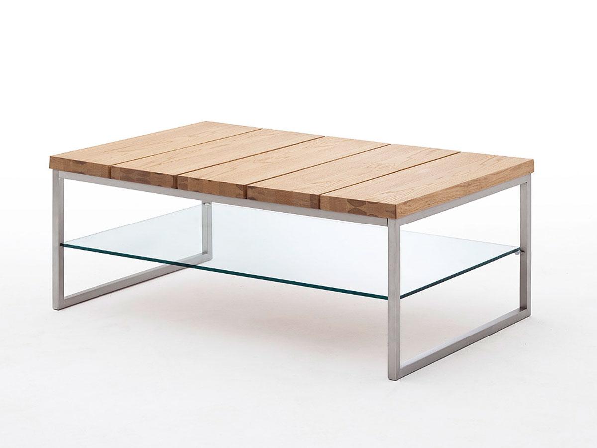 nelly couchtisch edelstahl asteiche. Black Bedroom Furniture Sets. Home Design Ideas