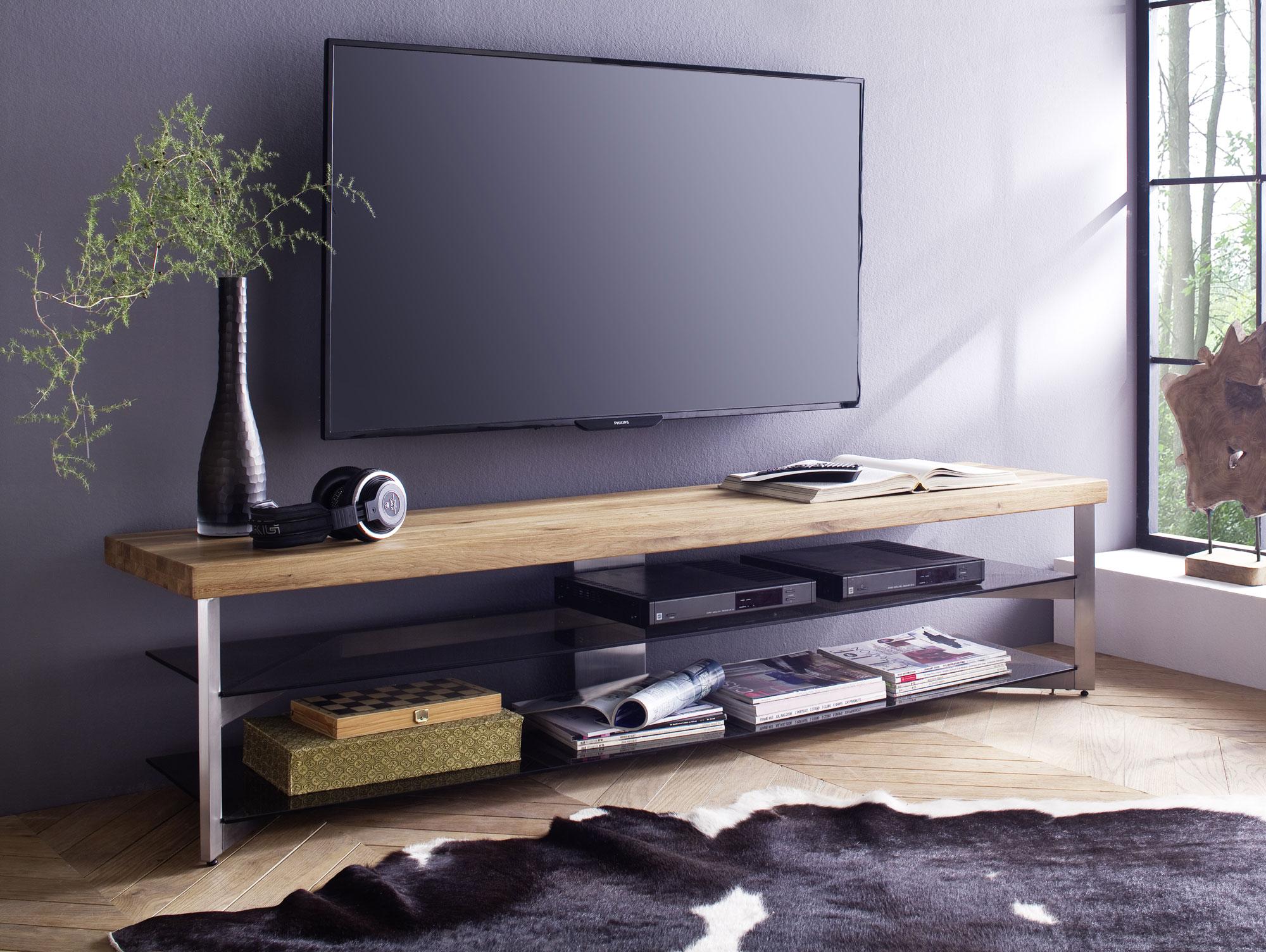 tv lowboard h ngend grau. Black Bedroom Furniture Sets. Home Design Ideas