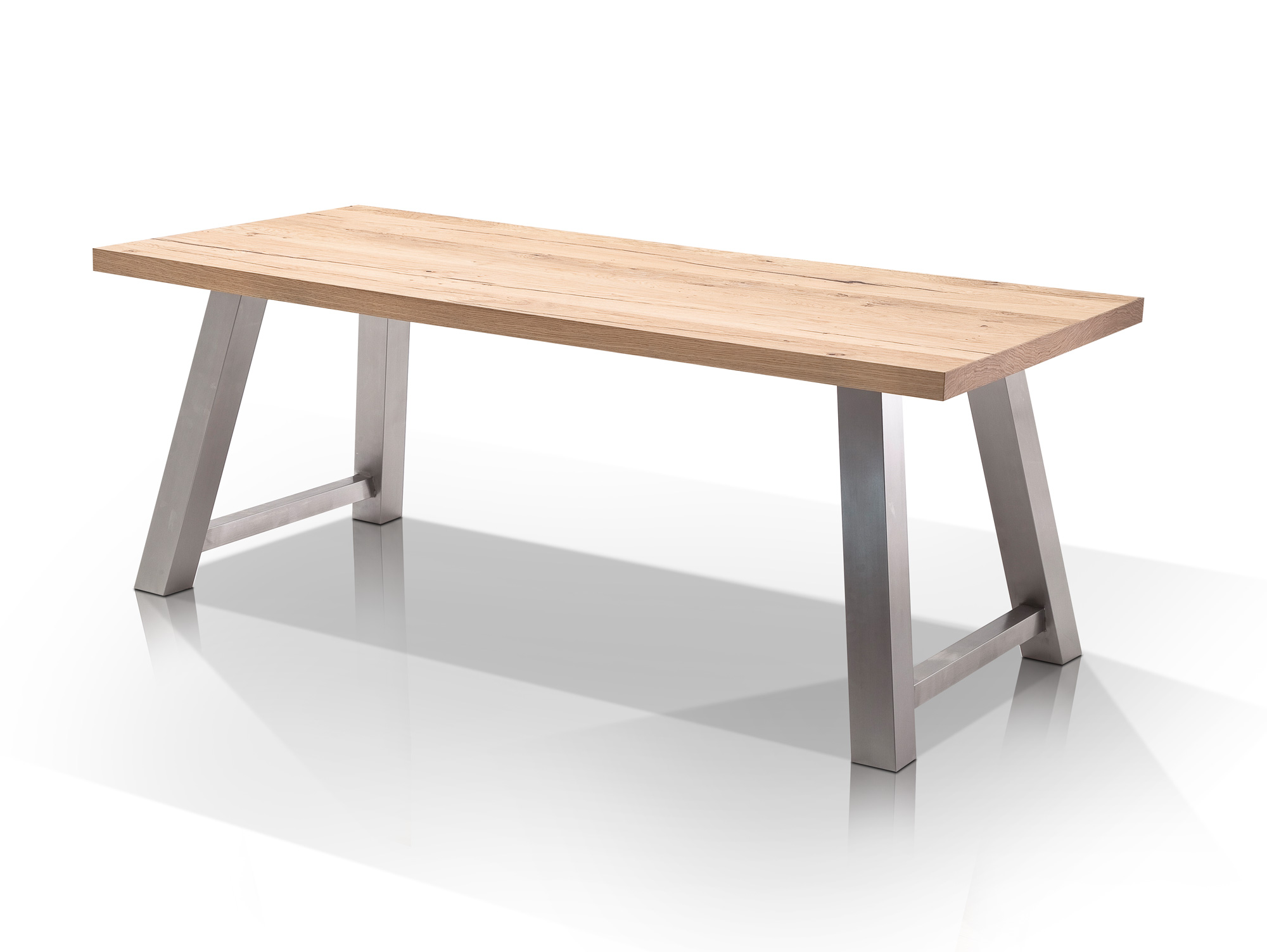 amino massivholzesstisch 200 x 100 cm eiche natur. Black Bedroom Furniture Sets. Home Design Ideas