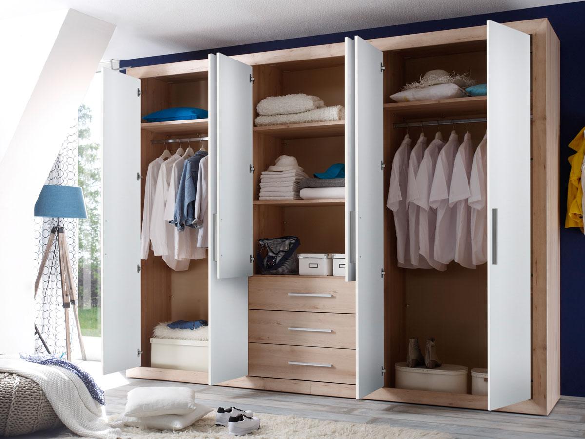 wonderful schlafzimmer kleiderschrank 6 turig 2 #1: Möbel-Eins