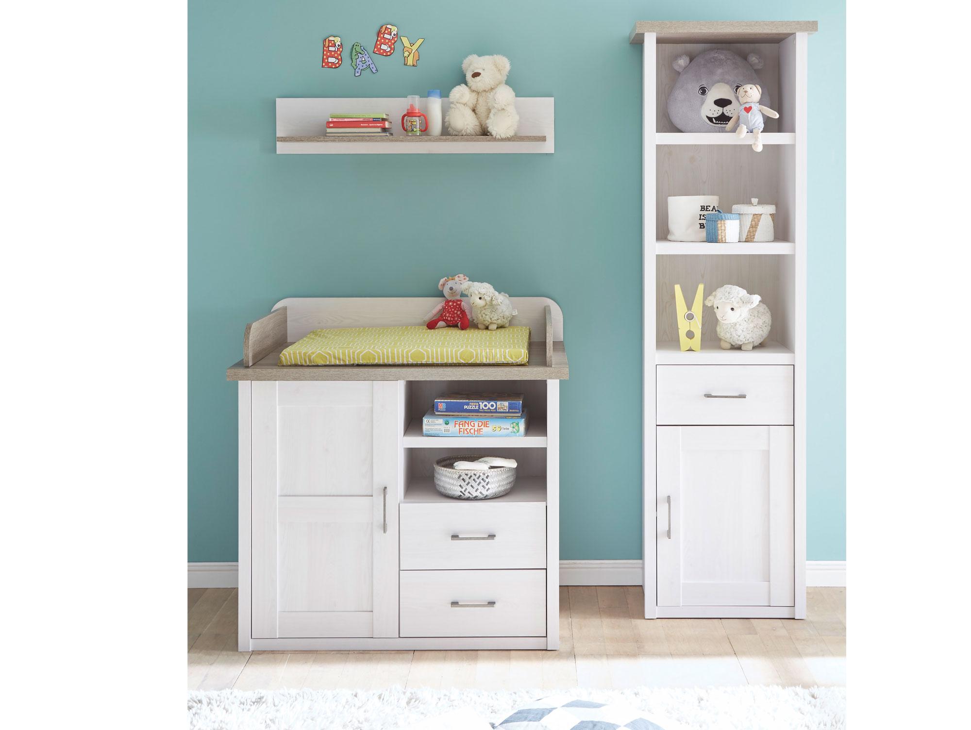 lucy wickelkommode pinie wei tr ffel. Black Bedroom Furniture Sets. Home Design Ideas
