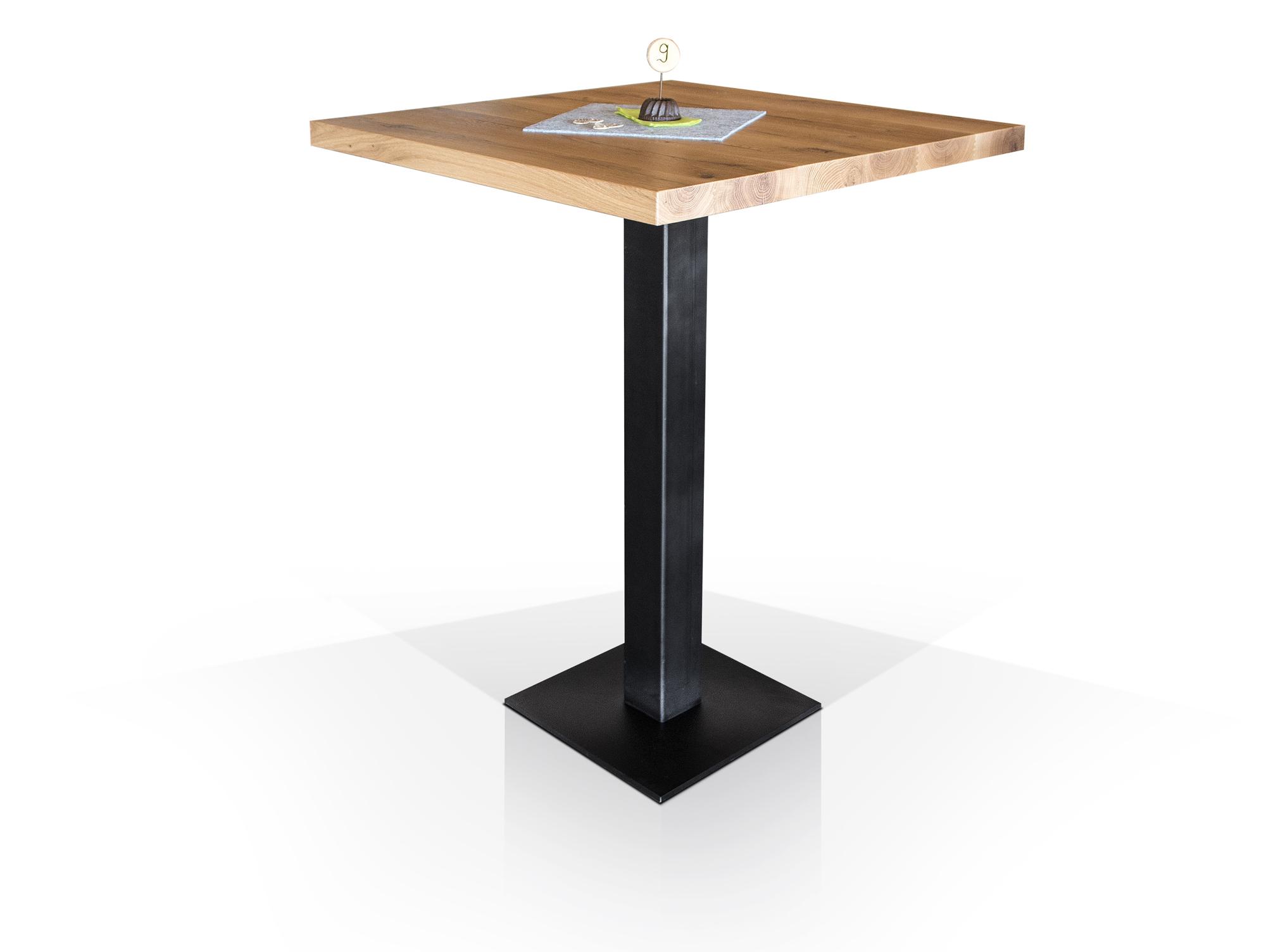 bartisch eiche mit diesem schnen stehtisch wird der traum von einer eigenen hausbar der tisch. Black Bedroom Furniture Sets. Home Design Ideas