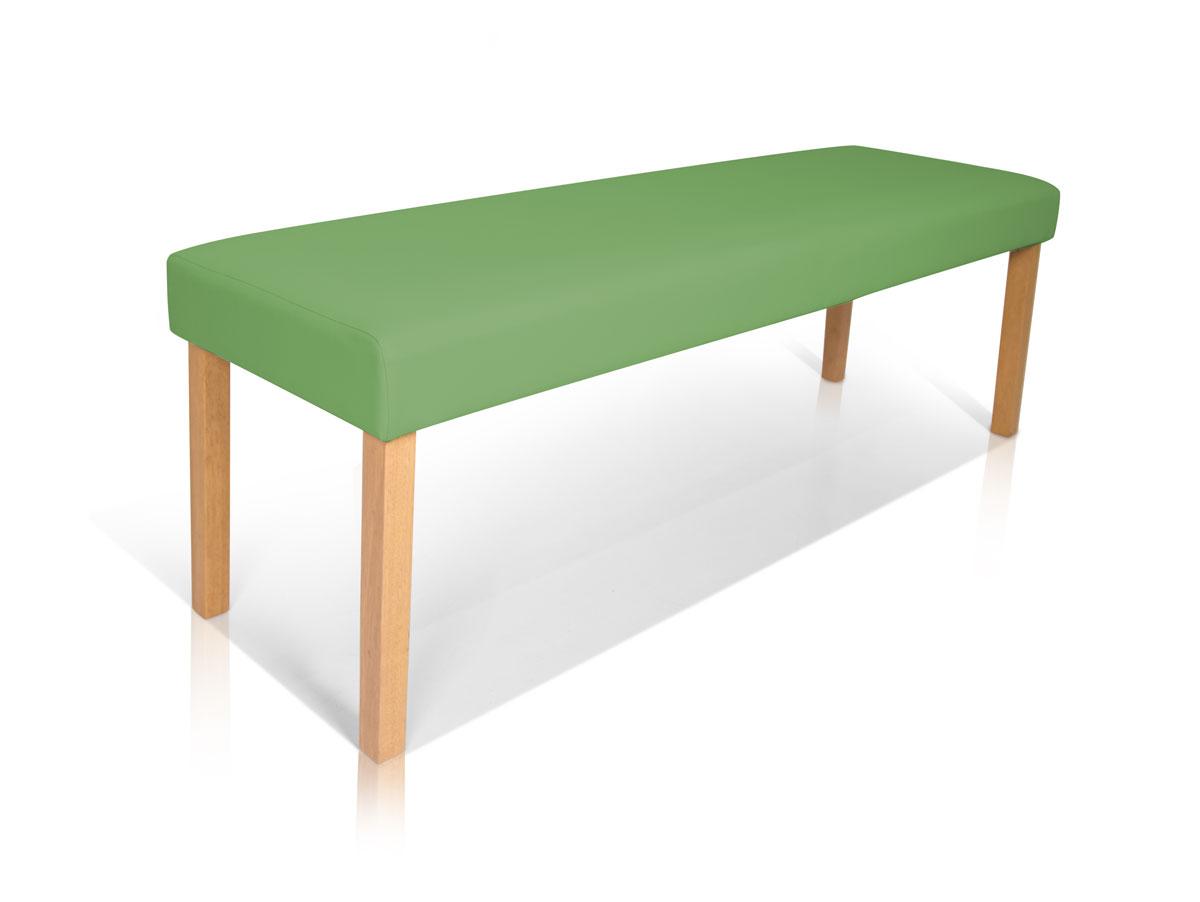 bill sitzbank kunstleder gr n 140 cm. Black Bedroom Furniture Sets. Home Design Ideas