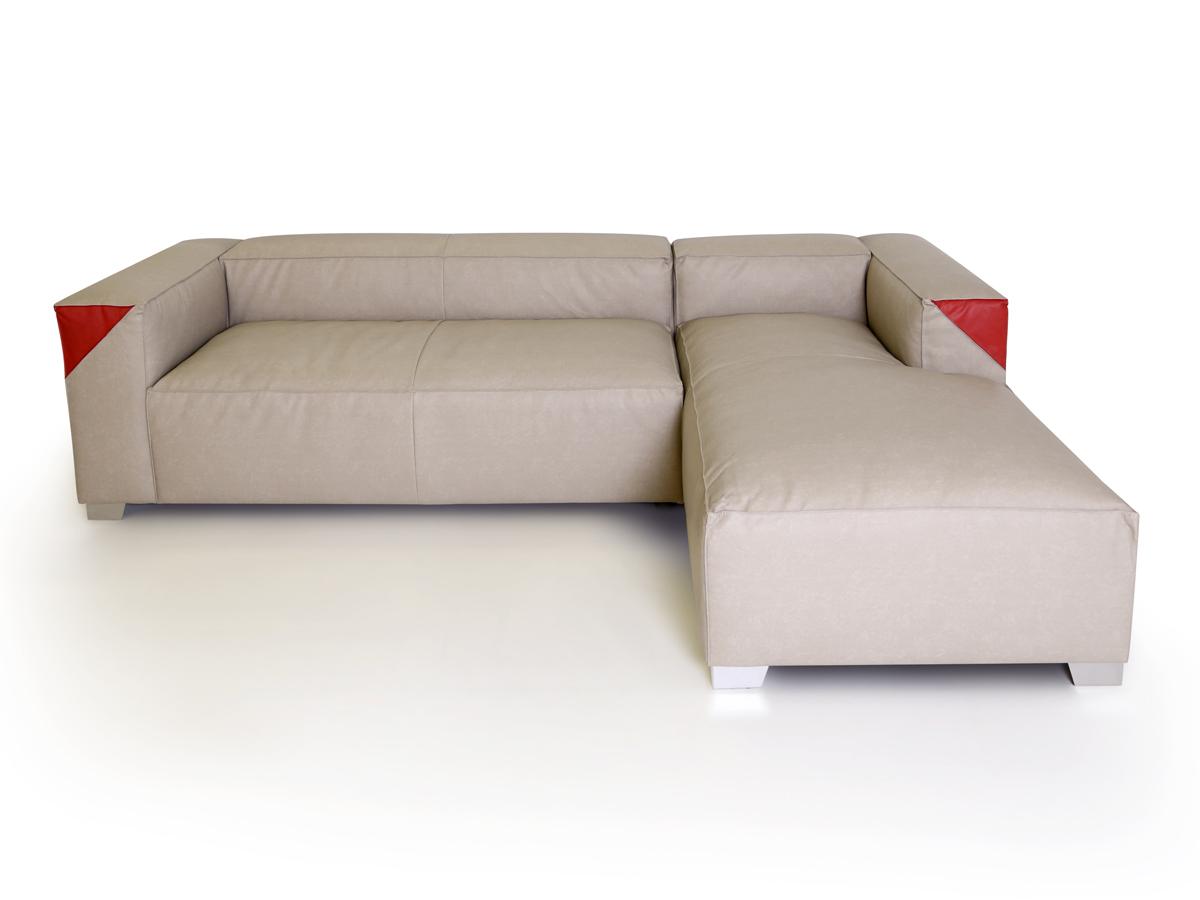Capi ecksofa sofa stoffbezug camel rechts for Ecksofa stoffbezug
