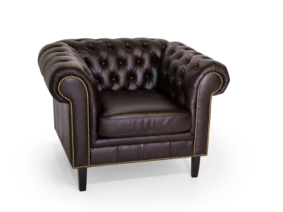 chesterfield santos 3 2 1 sofa garnitur echtleder braun. Black Bedroom Furniture Sets. Home Design Ideas