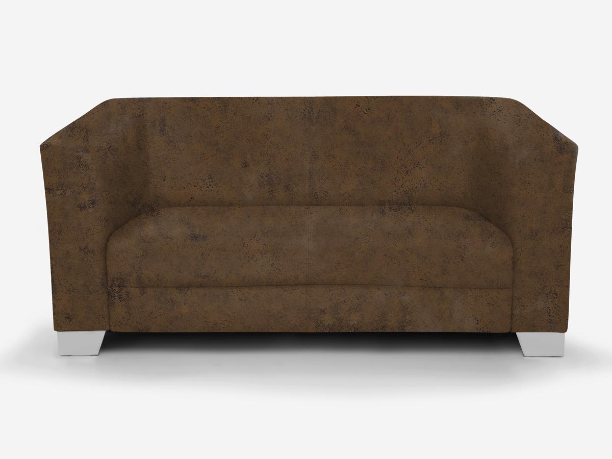 chicago 2 sitzer sofa gobi 03 braun. Black Bedroom Furniture Sets. Home Design Ideas