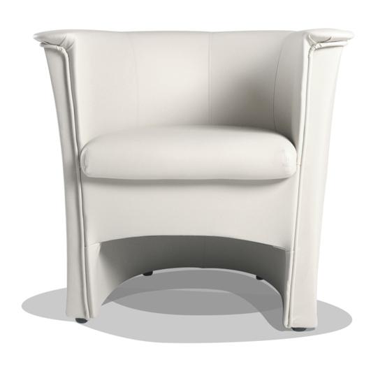 cocky kunstleder sessel clubsessel weiss. Black Bedroom Furniture Sets. Home Design Ideas
