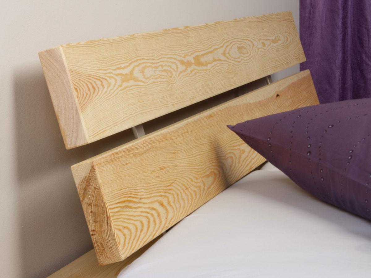 DINO Doppelbett/Massivholz Kiefer 160 x 200  unbehandelt