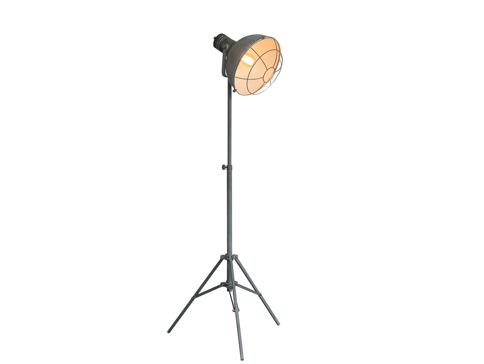dorothe stehlampe 3 bein grau. Black Bedroom Furniture Sets. Home Design Ideas