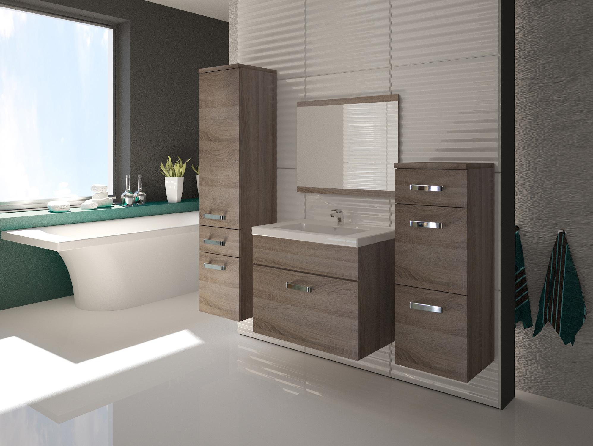 evol kommode eiche sonoma tr ffel nachbildung mdf. Black Bedroom Furniture Sets. Home Design Ideas