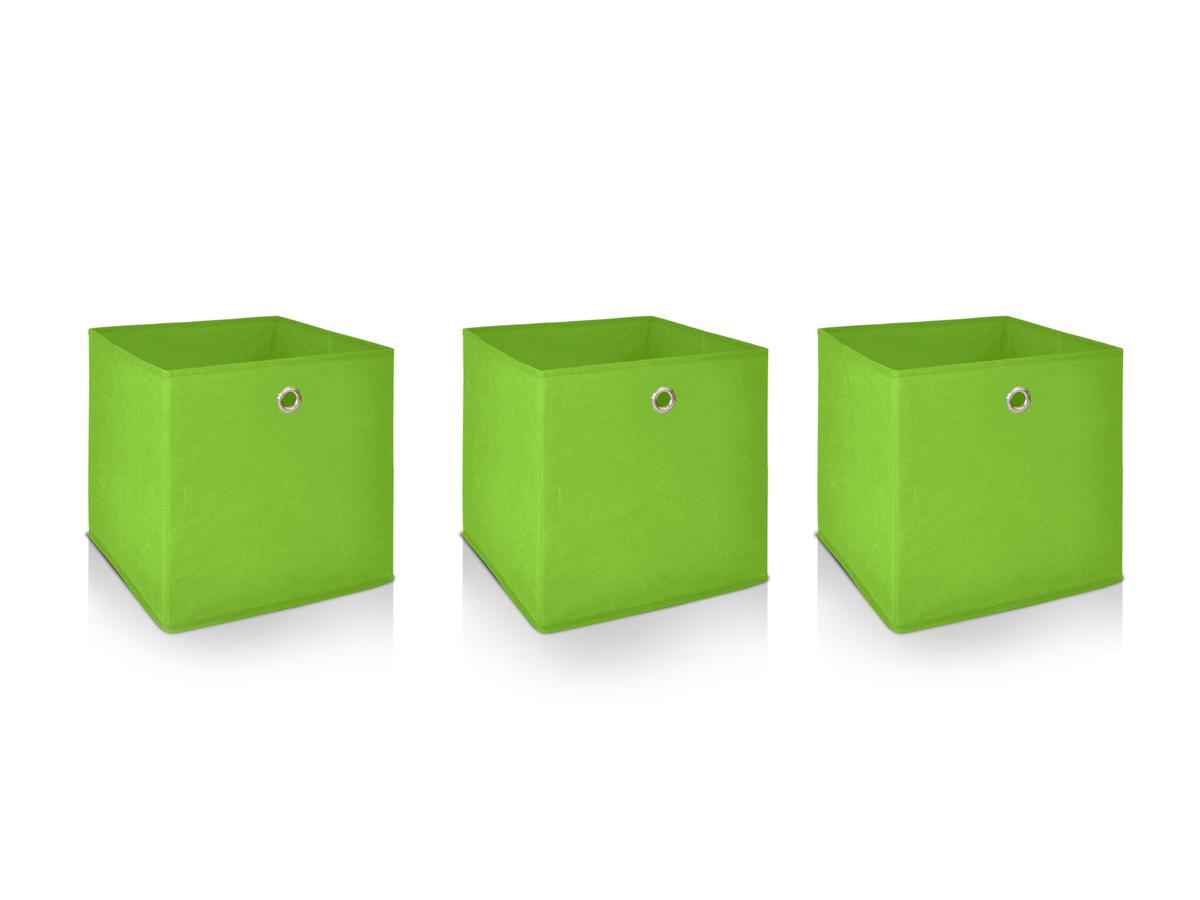alfa 3er set faltboxen gr n. Black Bedroom Furniture Sets. Home Design Ideas