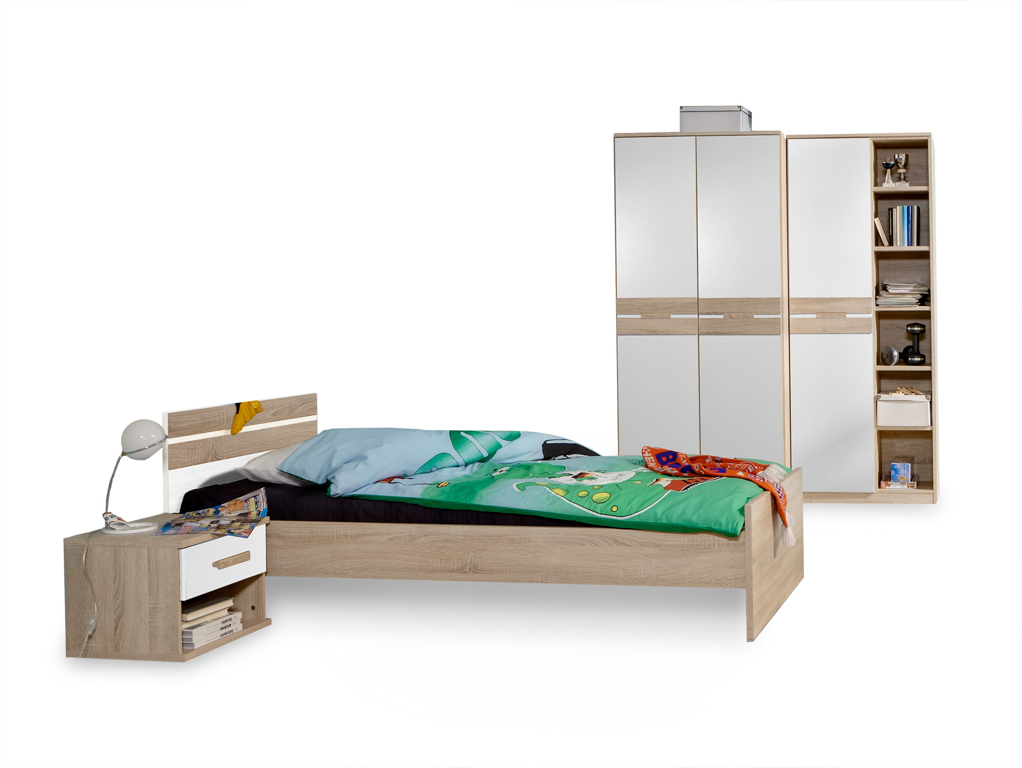 garry futonbett material dekorspanplatte 140x200 cm. Black Bedroom Furniture Sets. Home Design Ideas