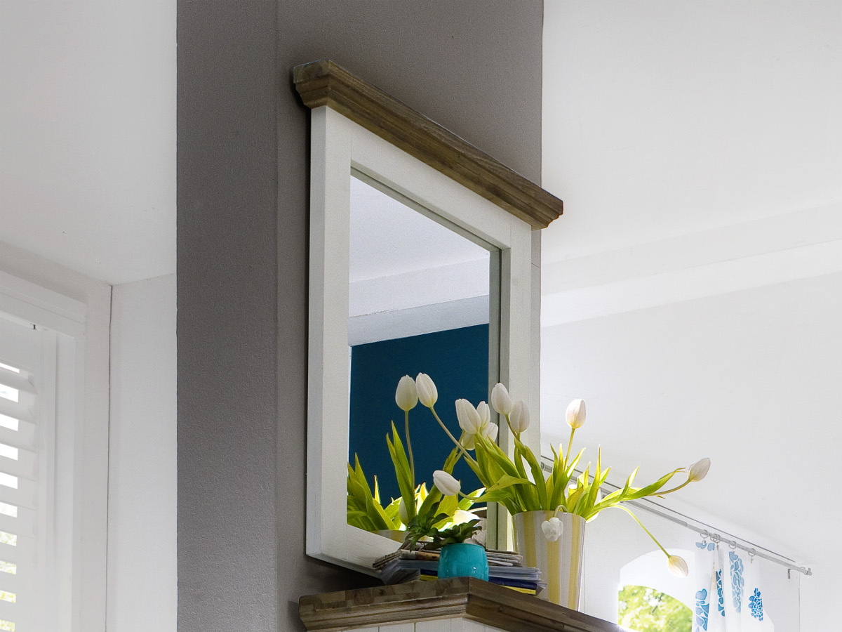 top gora spiegel akazie moebel. Black Bedroom Furniture Sets. Home Design Ideas