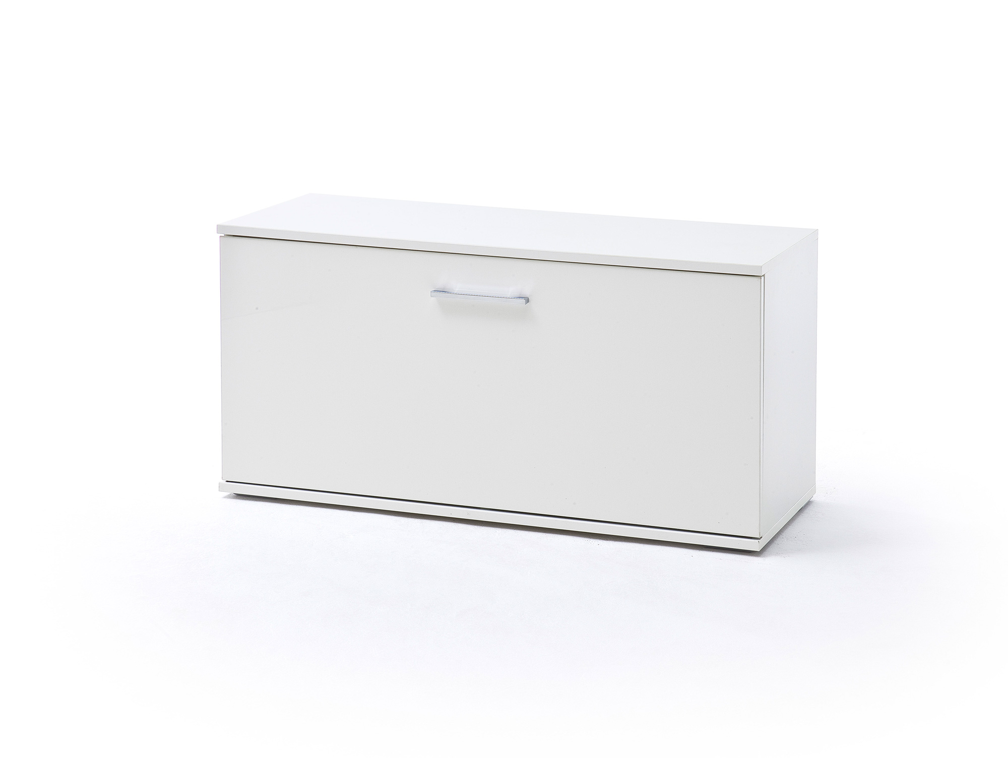 grazia garderobenbank weiss hochglanz. Black Bedroom Furniture Sets. Home Design Ideas