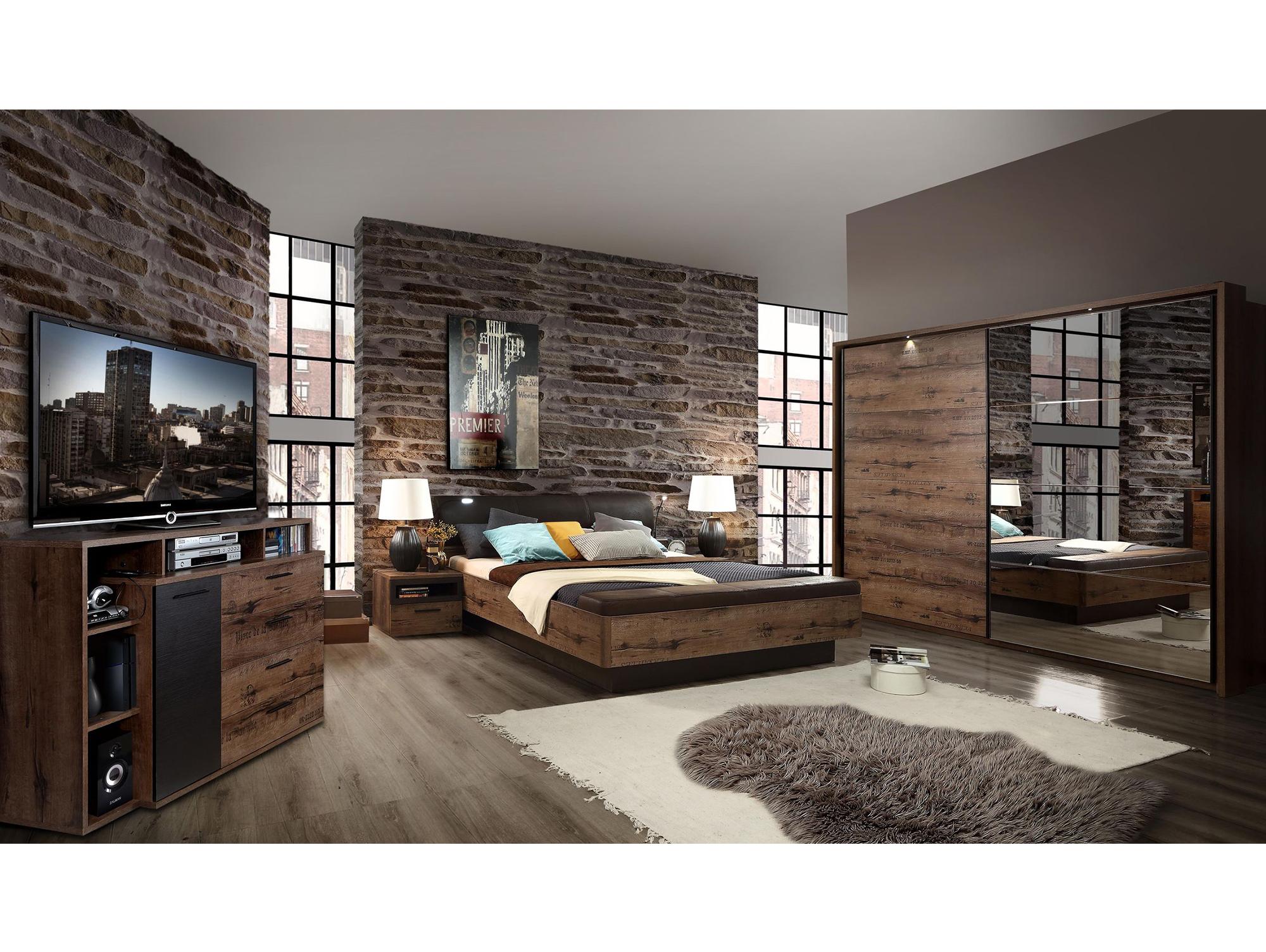 Jesolo komplett schlafzimmer schlammeiche dekor - Schlafzimmer ausstattung ...