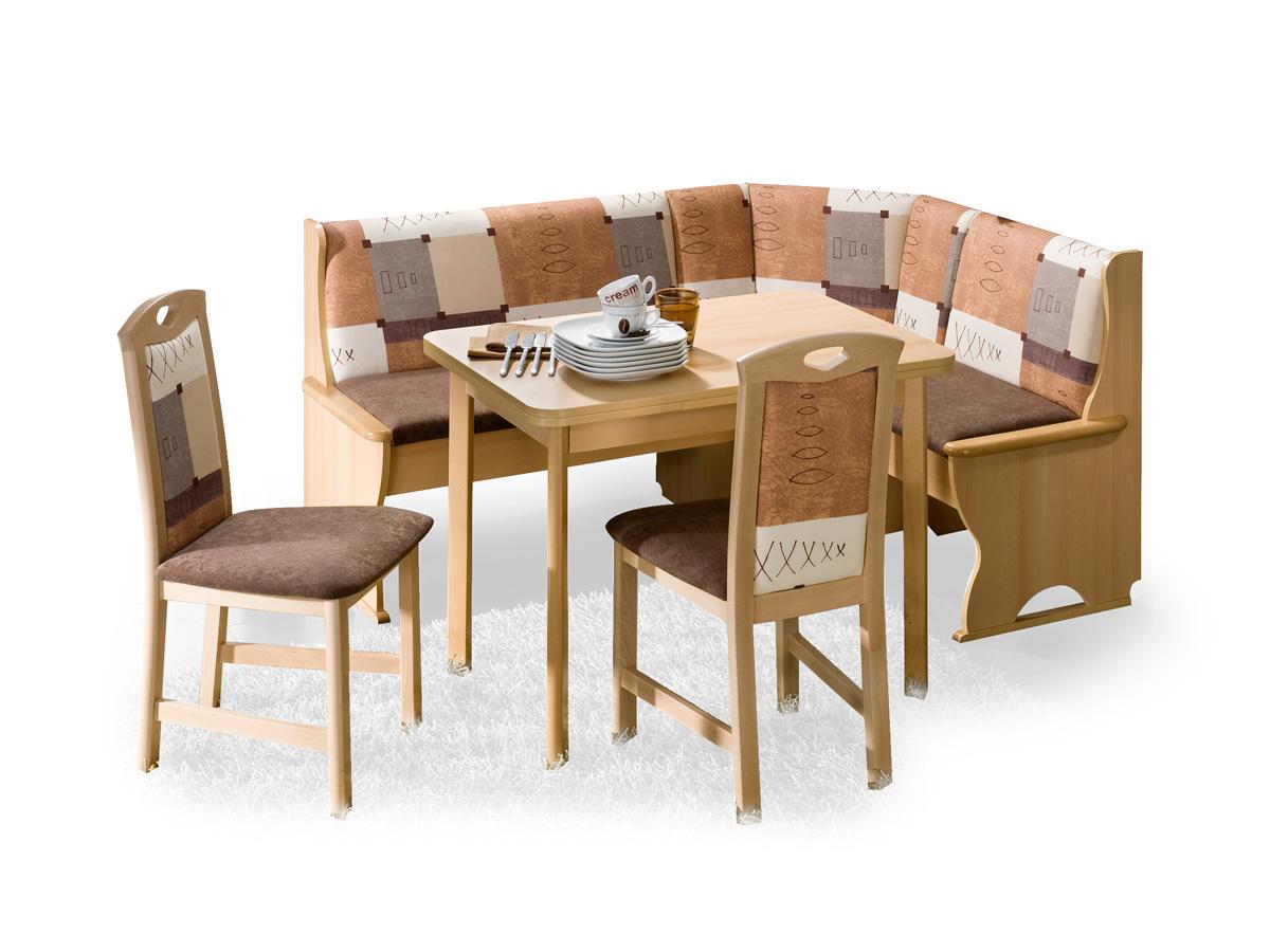 k ln eckbankgruppe buche dekor natur lackiert. Black Bedroom Furniture Sets. Home Design Ideas