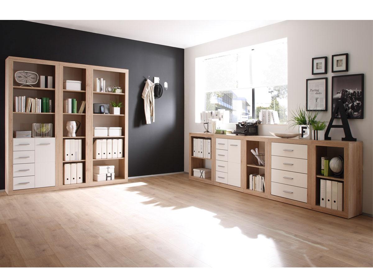 chester regal b3 hoch schmal san remo dekor. Black Bedroom Furniture Sets. Home Design Ideas