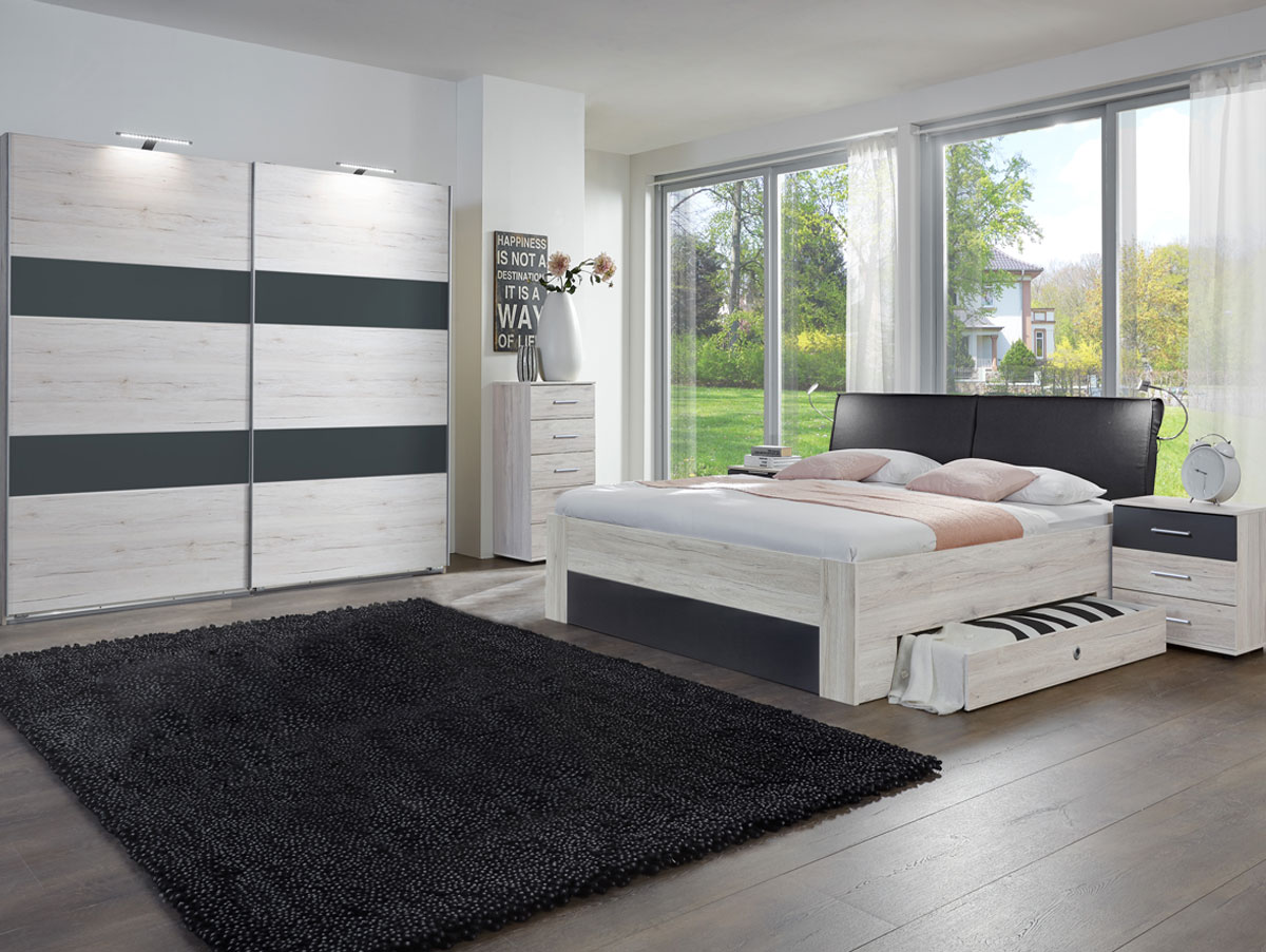 schlafzimmer komplett sofort lieferbar kopfkissen microfaser deko aus bettdecken bassetti. Black Bedroom Furniture Sets. Home Design Ideas