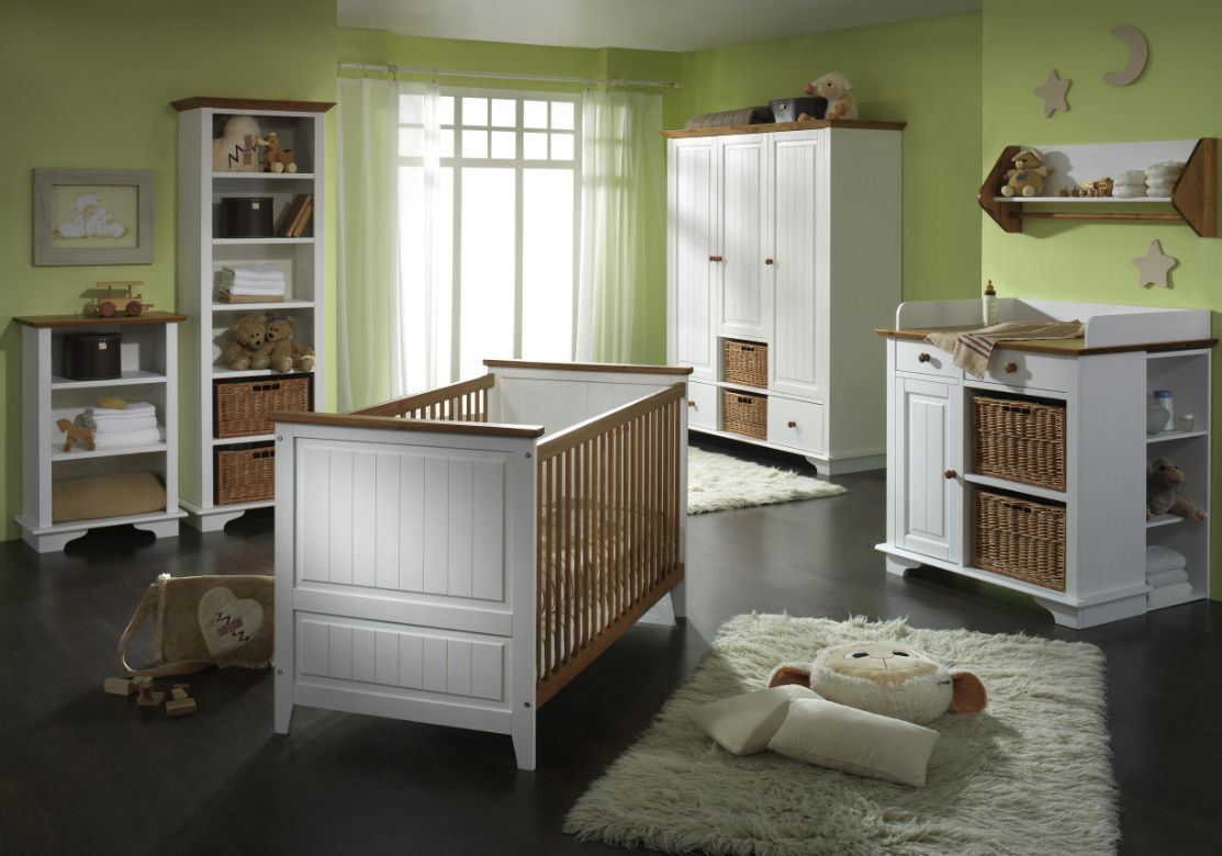 jamie kleiderschrank 2trg kiefer massiv wei lackiert. Black Bedroom Furniture Sets. Home Design Ideas