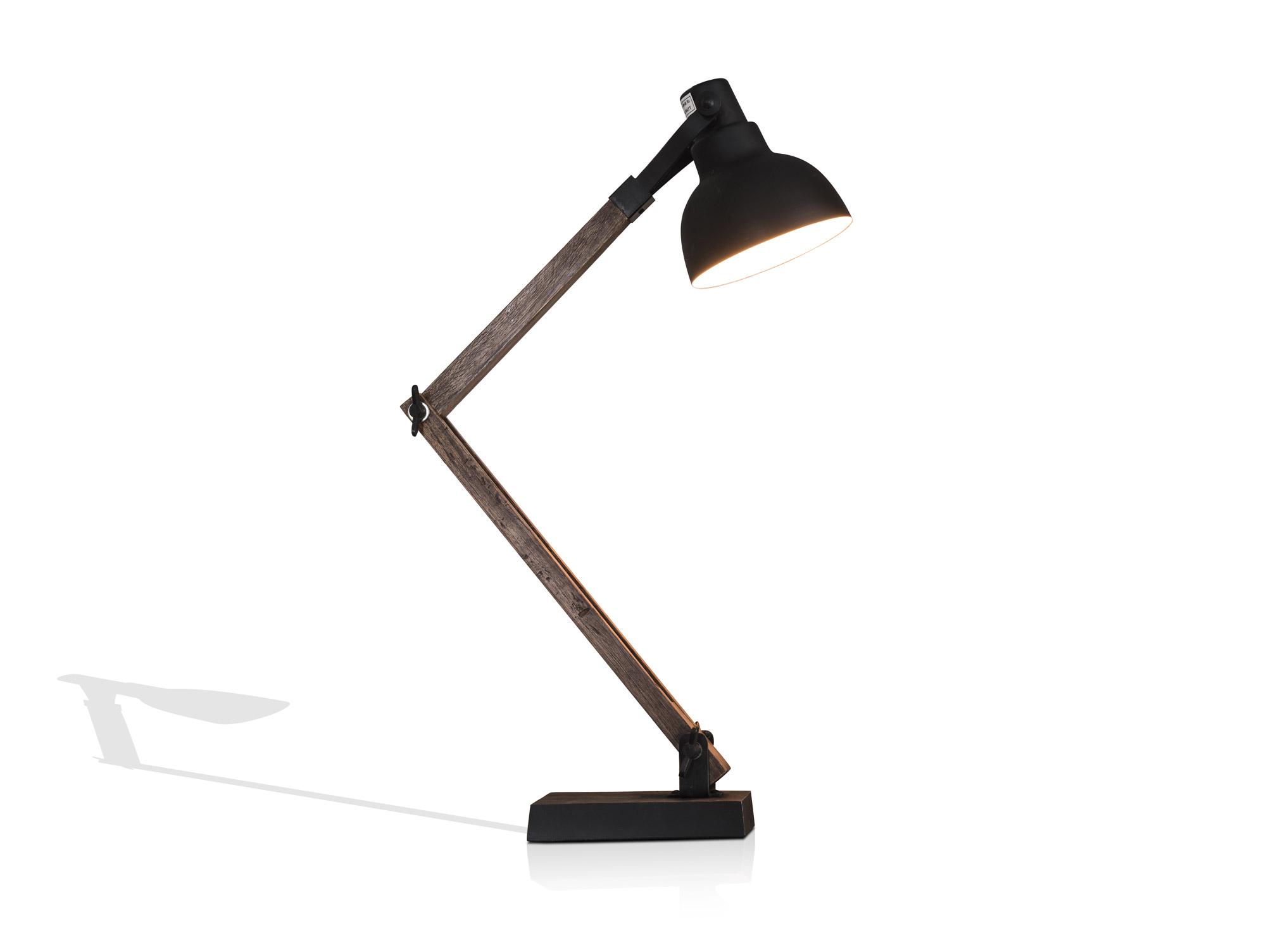 lina tischlampe vintage schwarz. Black Bedroom Furniture Sets. Home Design Ideas