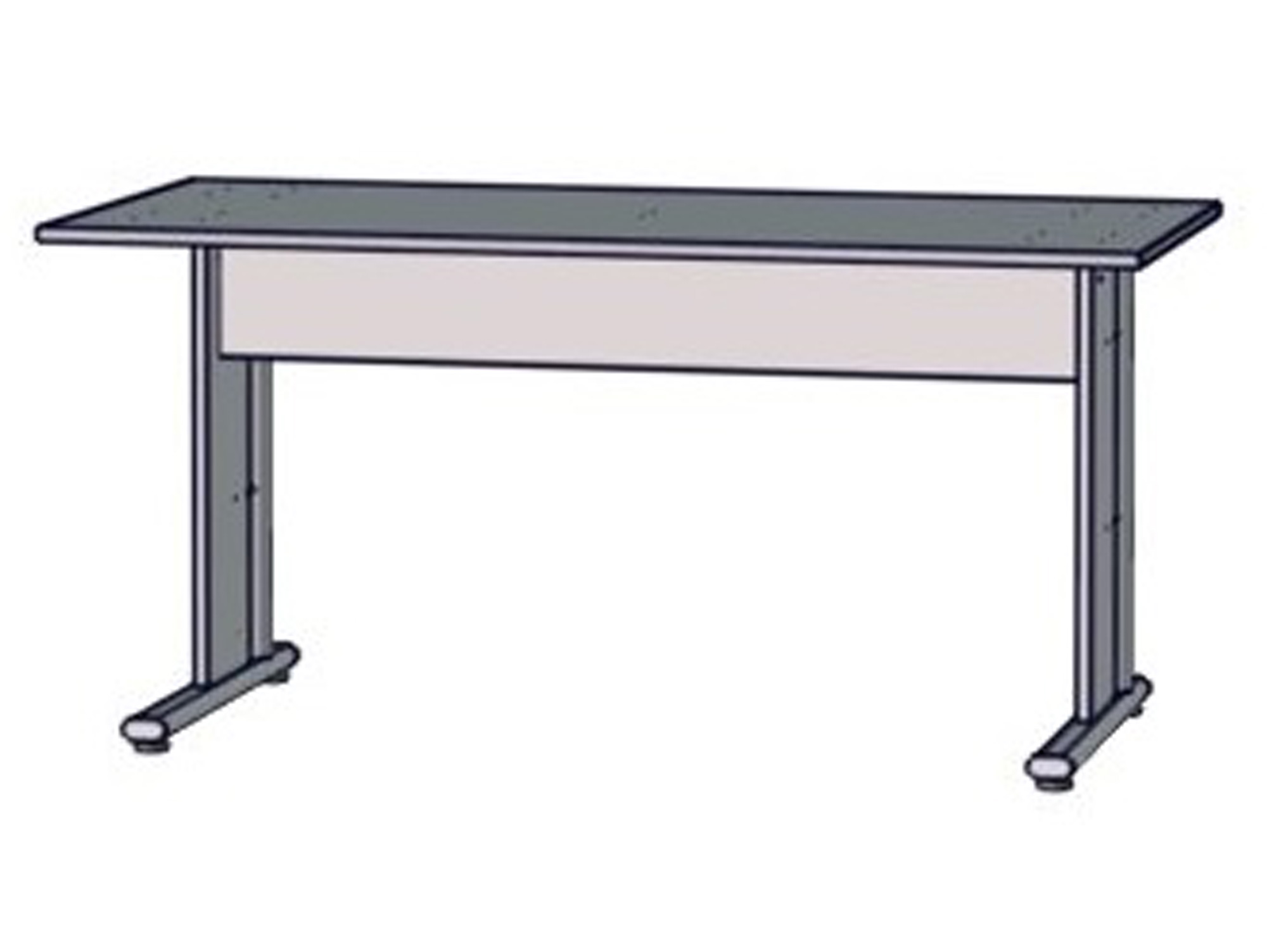 Maraun schreibtisch material dekorspanplatte eiche for Schreibtisch 150