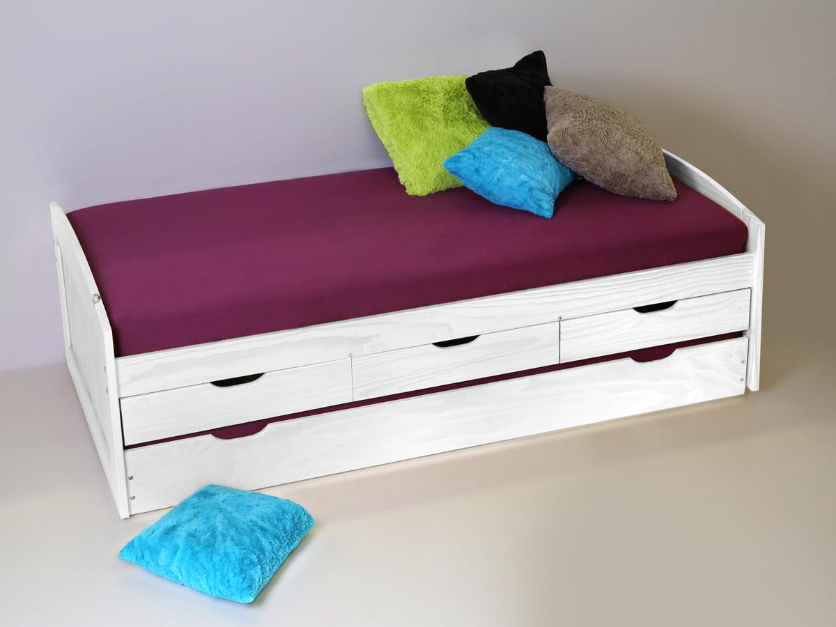 funktionsbett kiefer wei wanderfreunde hainsacker. Black Bedroom Furniture Sets. Home Design Ideas
