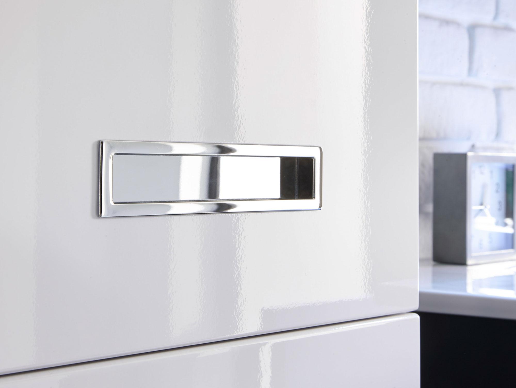 MAY Badezimmer Set grau/weiß