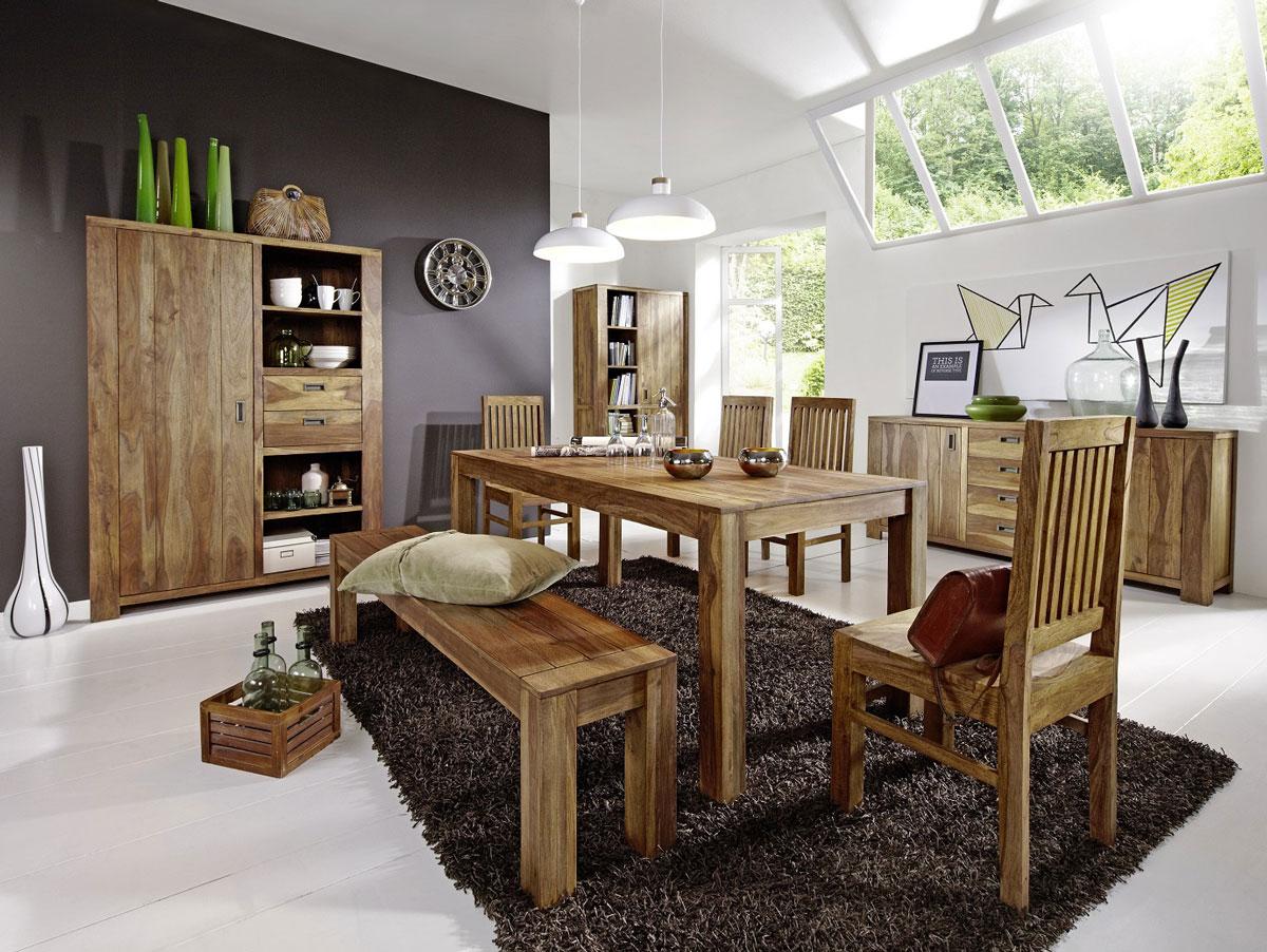 babylon ii tv board sheesham gebeizt. Black Bedroom Furniture Sets. Home Design Ideas