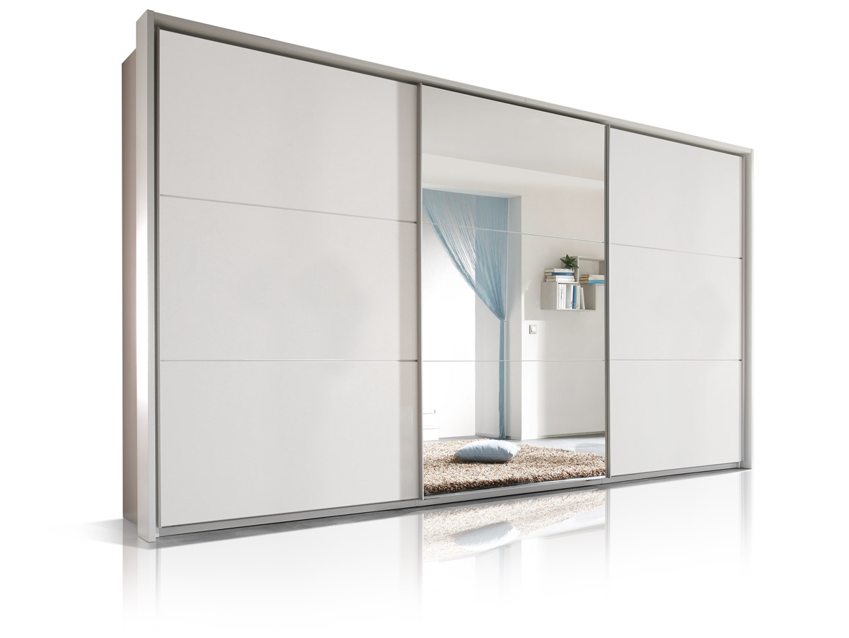Schwebetürenschrank Weiß Mit Spiegel : mimi schwebet renschrank wei mit spiegel ~ Lateststills.com Haus und Dekorationen