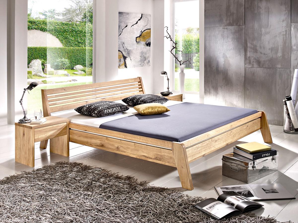 mary massivholzbett in komforth he 180 x 200 cm kernbuche. Black Bedroom Furniture Sets. Home Design Ideas