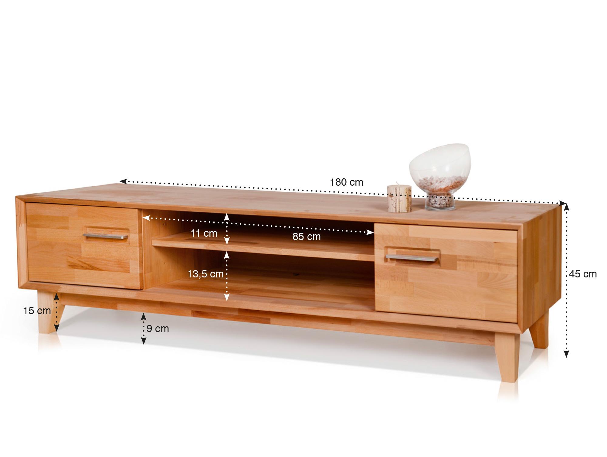 nepal iv tv unterteil eiche 45 cm. Black Bedroom Furniture Sets. Home Design Ideas