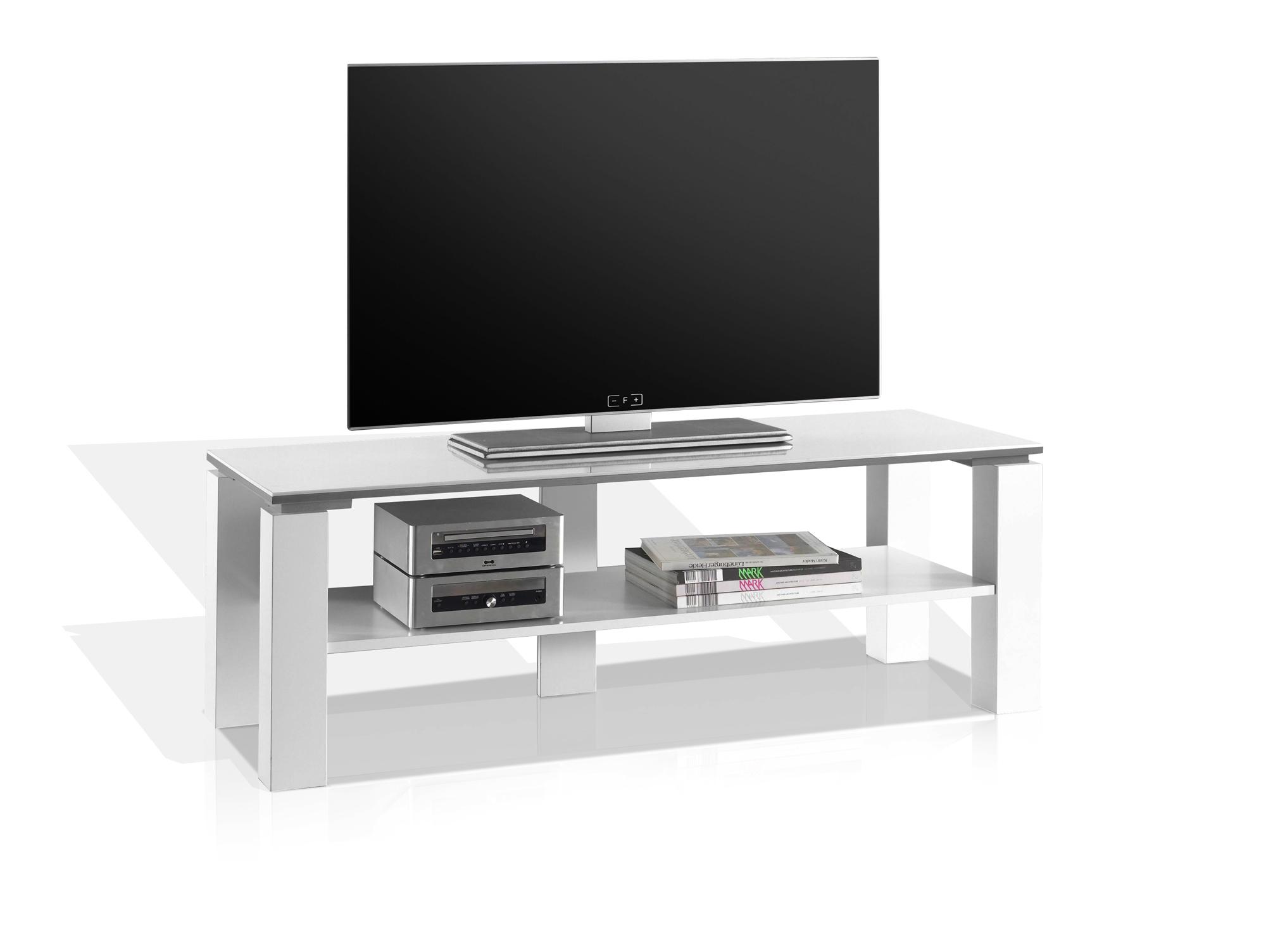 rabea lowboard 120 cm wei hochglanz. Black Bedroom Furniture Sets. Home Design Ideas