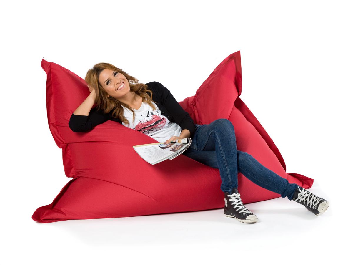 soft seating by sitting bull megabag sitzsack rot 360 l. Black Bedroom Furniture Sets. Home Design Ideas