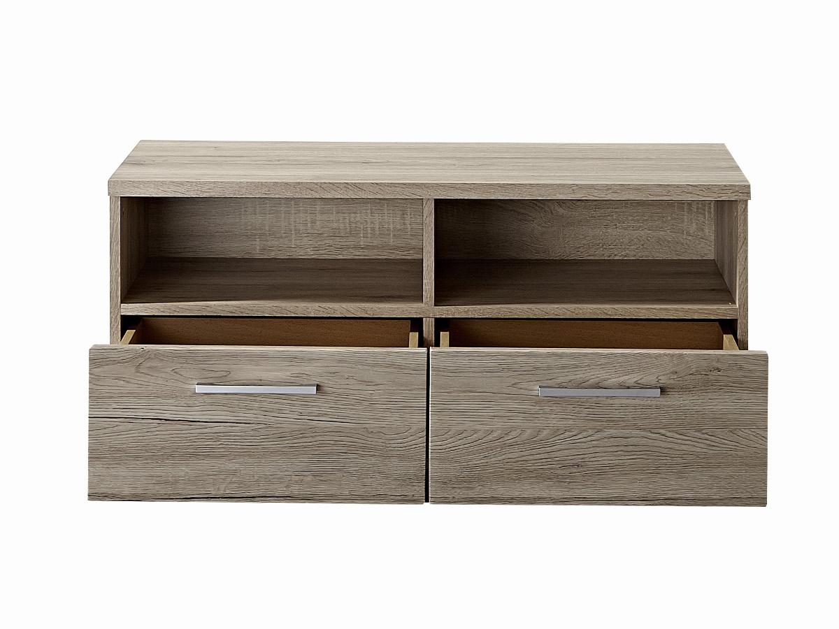 spots garderobenbank sitzbank san remo eiche hell schiefer. Black Bedroom Furniture Sets. Home Design Ideas
