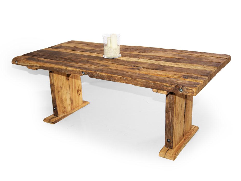 wikinger kulissentisch massivholzesstisch asteiche 200 x 100 cm unbehandelt. Black Bedroom Furniture Sets. Home Design Ideas
