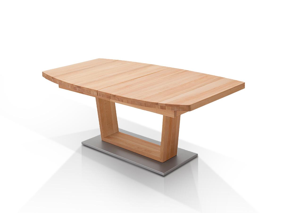 cover esstisch massivholzesstisch bootsform mit v fu. Black Bedroom Furniture Sets. Home Design Ideas