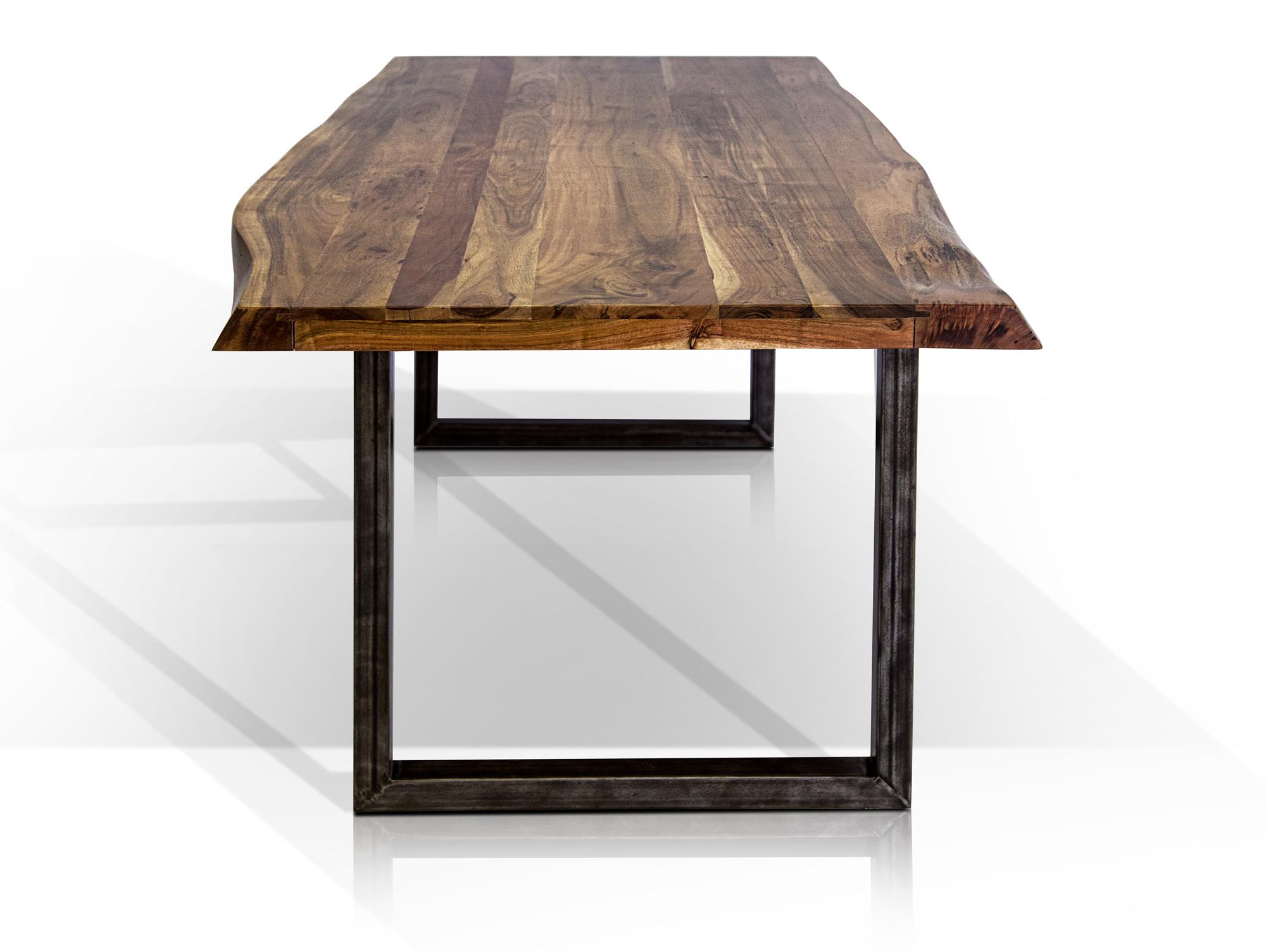 gera esstisch akazie lackiert 160x90 cm. Black Bedroom Furniture Sets. Home Design Ideas