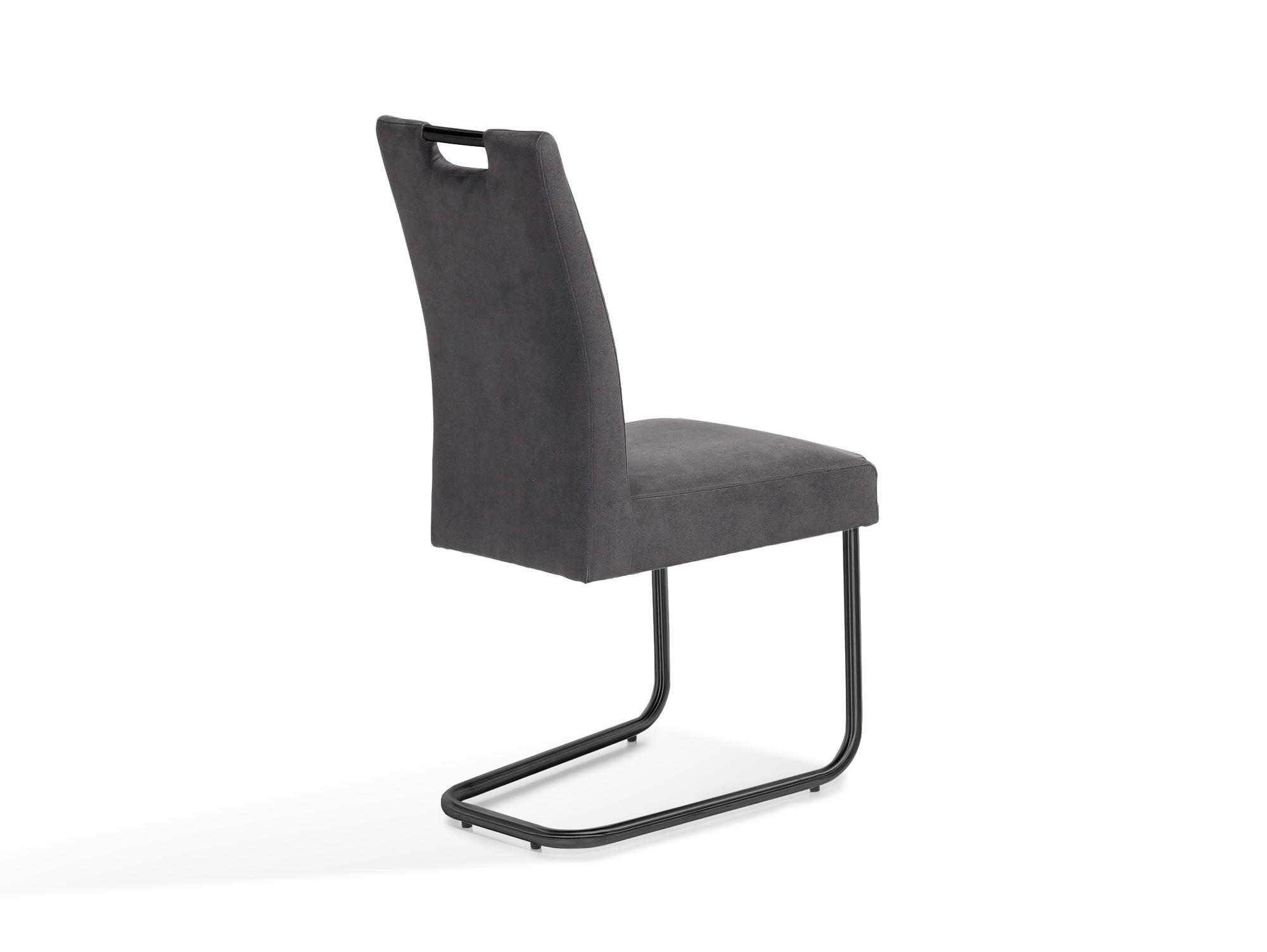 klara freischwinger gestell schwarz lackiert anthrazit. Black Bedroom Furniture Sets. Home Design Ideas
