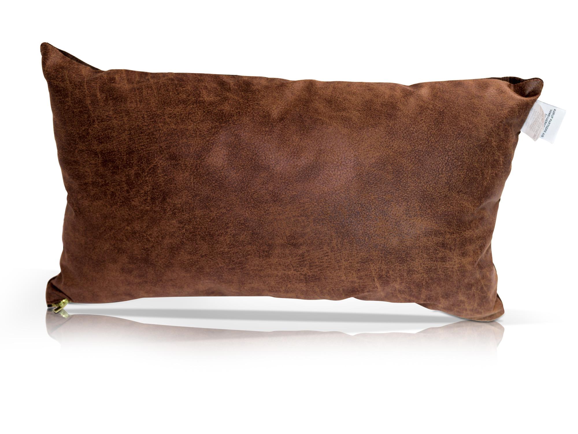 kissen 2er set vintage schoko braun. Black Bedroom Furniture Sets. Home Design Ideas