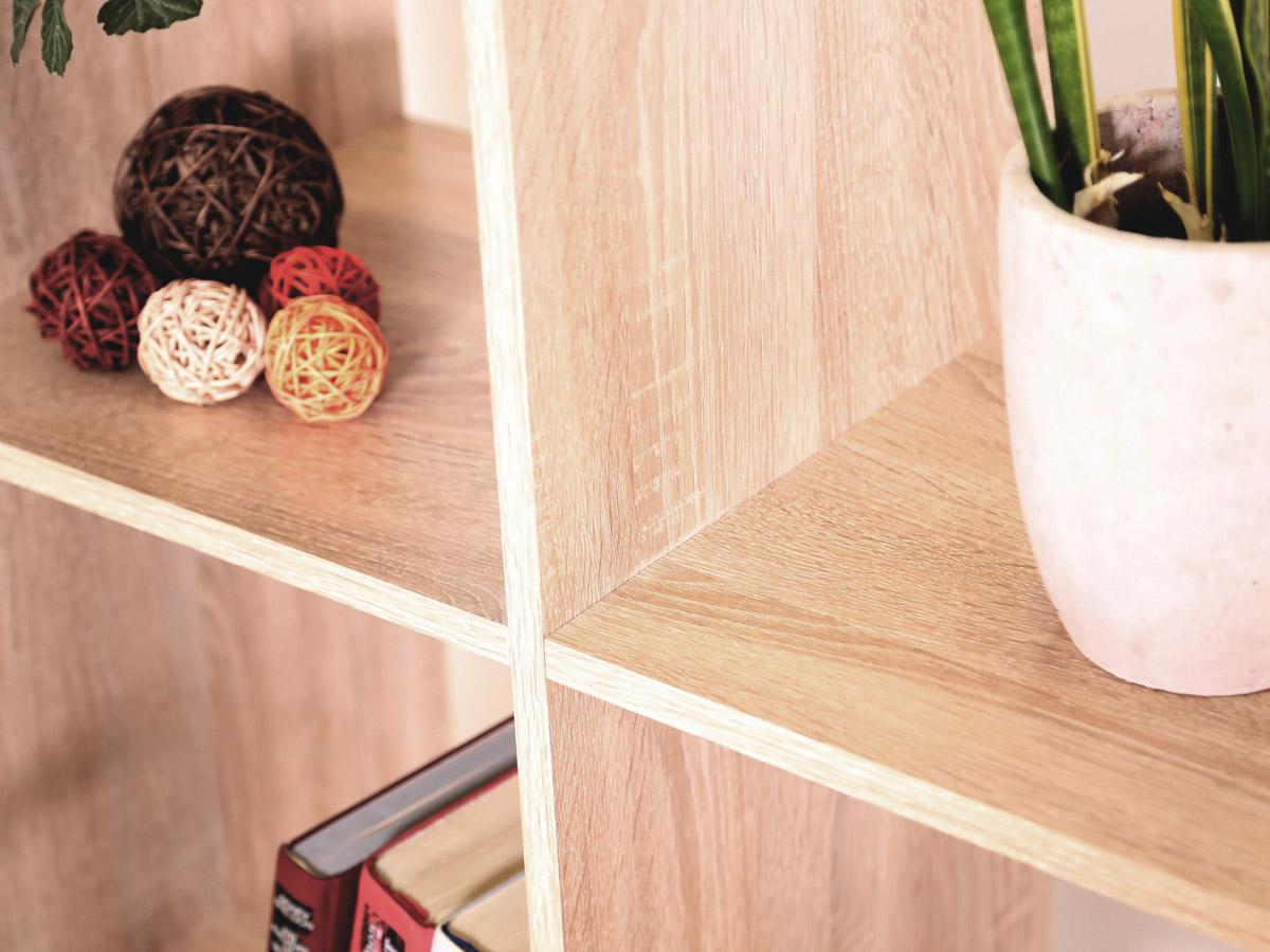 laluna regal treppe eiche sonoma. Black Bedroom Furniture Sets. Home Design Ideas
