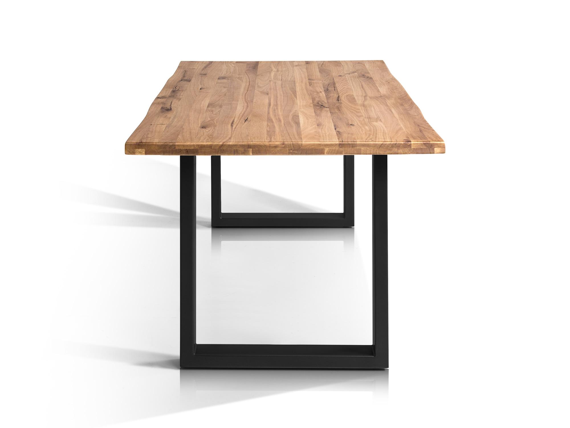 Esstisch metall schwarz design for Tisch dunkel