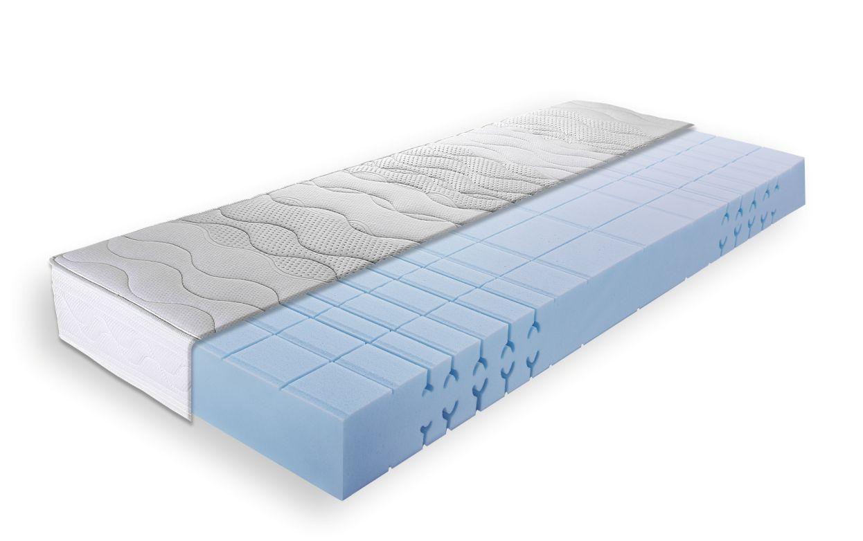 breckle llq perfect 7 zonen kaltschaummatratze 90 x 200 h rtegrad 3. Black Bedroom Furniture Sets. Home Design Ideas