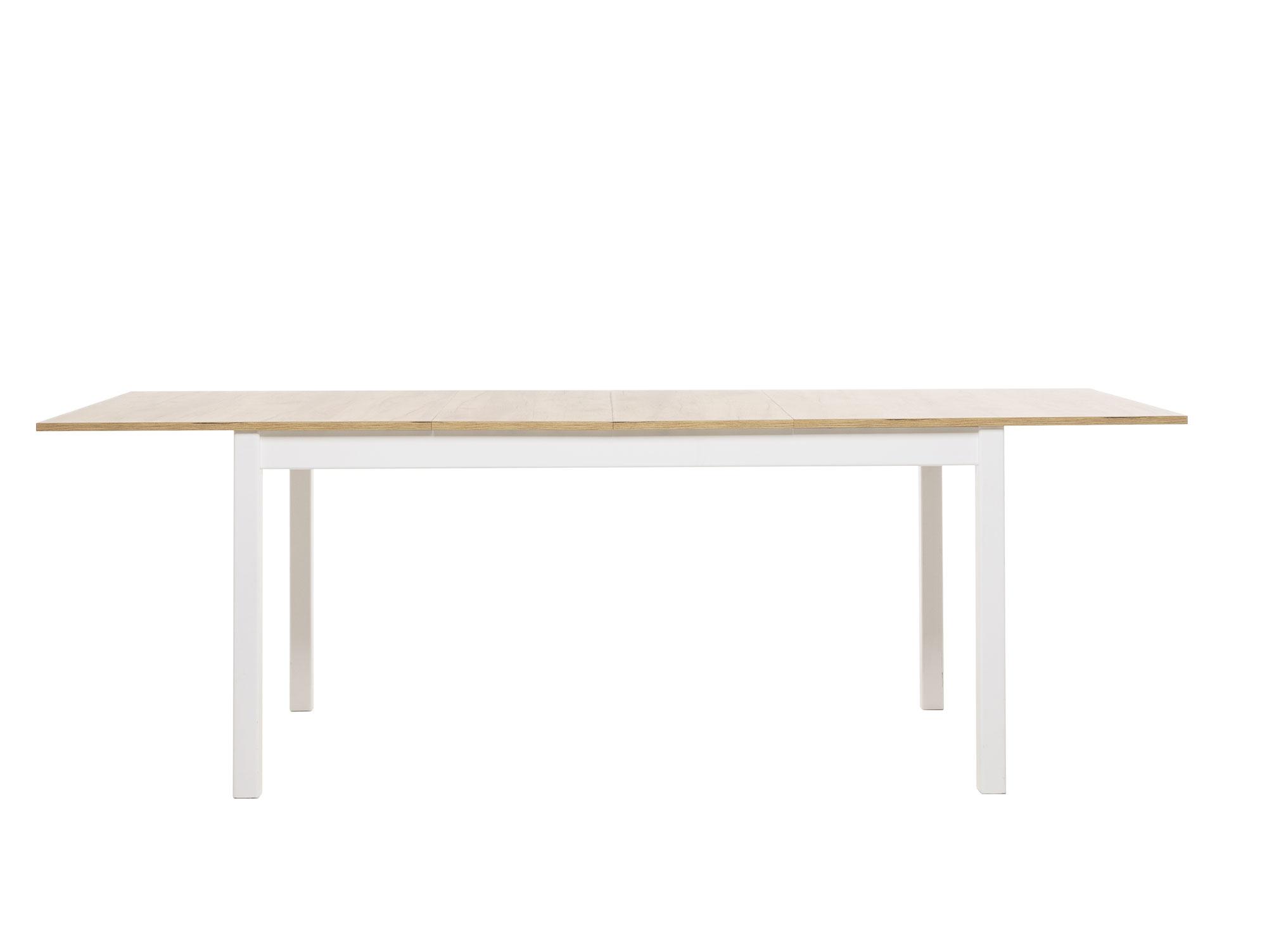 esstisch stockholm 2 wei eiche honig. Black Bedroom Furniture Sets. Home Design Ideas