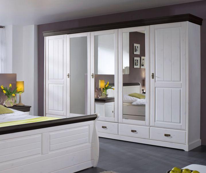 roman komplett schlafzimmer kiefer weiss colonial ohne bettkasten. Black Bedroom Furniture Sets. Home Design Ideas