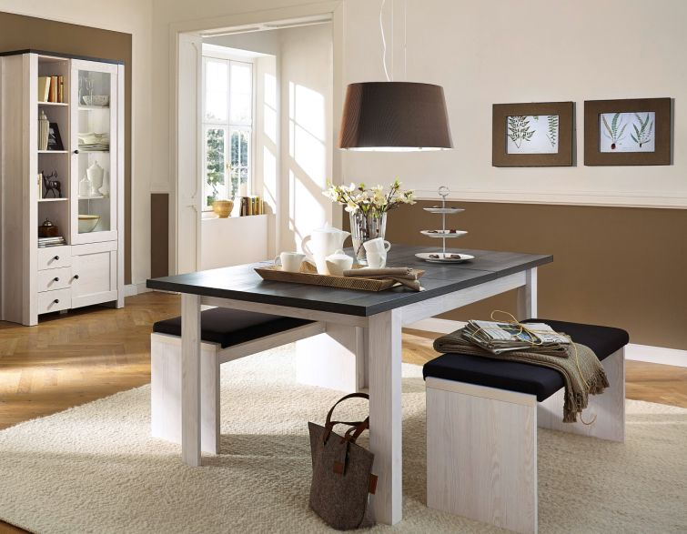 antwerpen sitzbank inkl klemmkissen braun. Black Bedroom Furniture Sets. Home Design Ideas